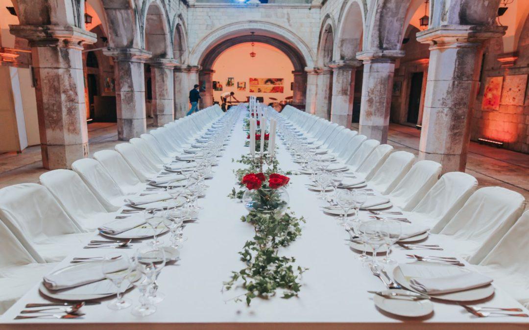 Micro weddings: tips for choosing your wedding menu